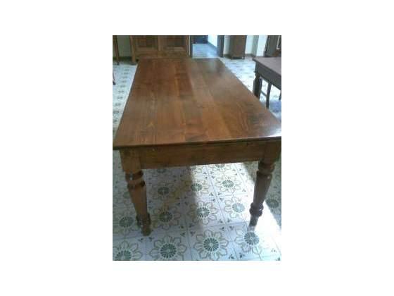 Tavolo antico 800 pioppo e abete