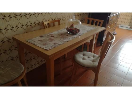 Tavolo cucina con 4 sedie Calligaris