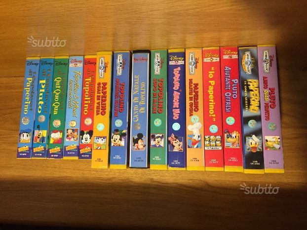 85 cassette VHS originali Walt Disney e non