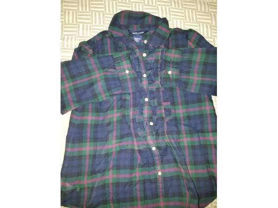 Camicia bimbo Ralph Lauren Originale tg.6x anni