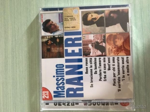 Cofanetto 2 CD Massimo Ranieri- I grandi successi