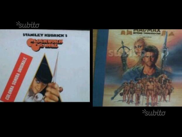 Dischi vinile 33 giri colonne sonore n. 2