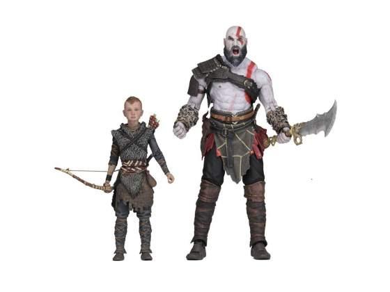 God of War () Ultimate Action Figure 2-Pack Kratos