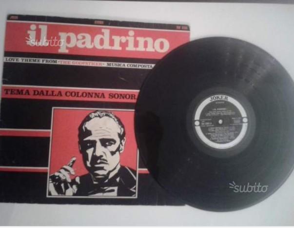 Il PADRINO -colonna sonora del film. Vinile