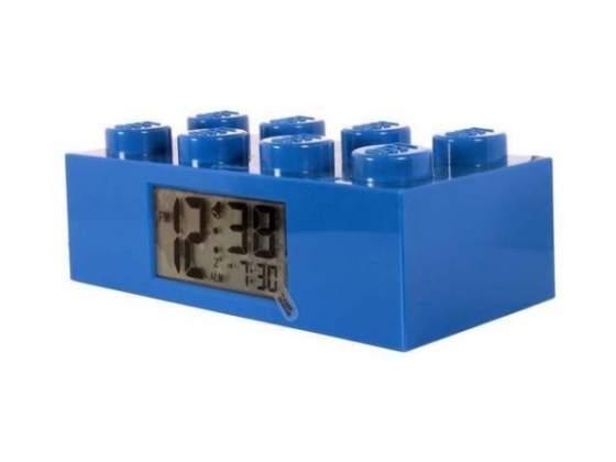 LEGO® Mattoncino Blu Sveglia Digitale Schermo LCD