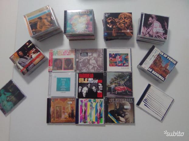Lotto 55 cd jazz,rock originali come nuovi