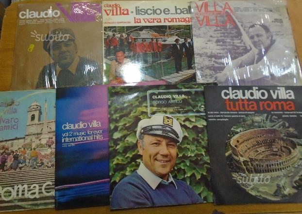 Lotto vari album vinile LP Claudio Villa