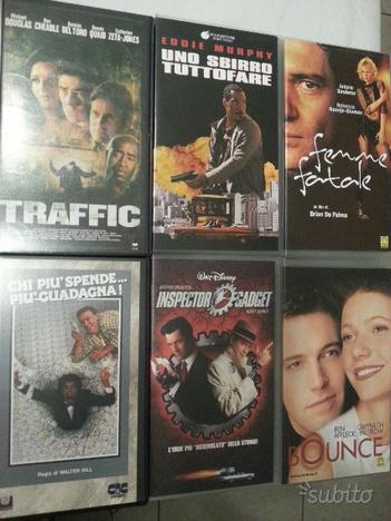 STOCK 6 RARE VHS videocassette Film