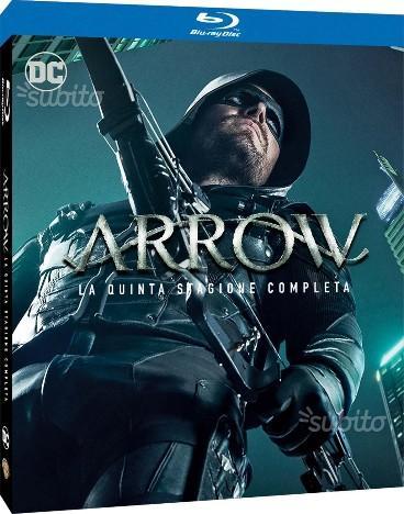 Serie Tv Arrow 5 e Flash 3 BluRay ancora incartate