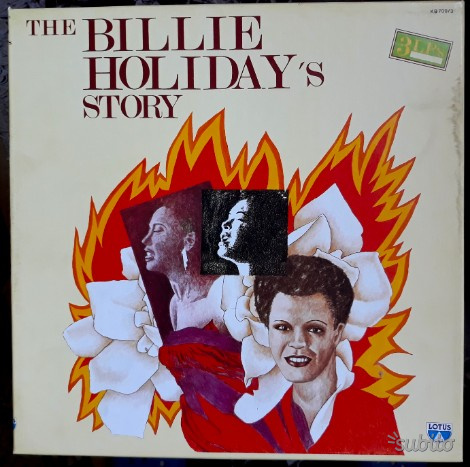 THE BILLIE HOLIDAYS's STORY cofanetto 3 LP