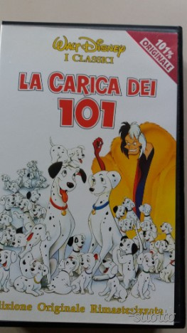 VHS cartoni animati Walt Disney classici