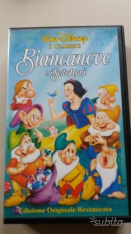 VHS cartoni animati classici Walt Disney
