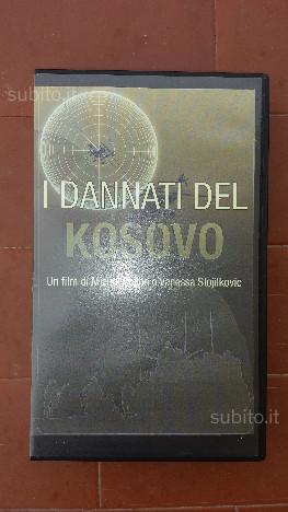 """Vhs originale del film """"I dannati del Kosovo"""""""