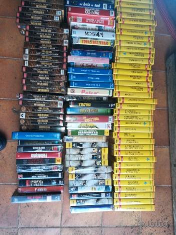 Videocassette VHS film anni 80 collane anche nuovi