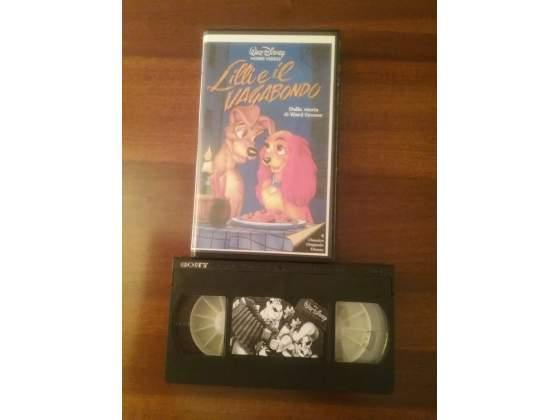 Videocassette originali walt disney