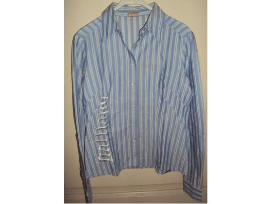 Camicia a righe John Galliano