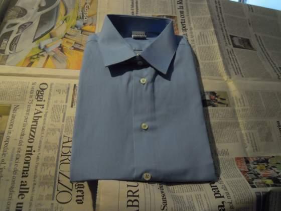 Camicia in cotone a maniche lunghe