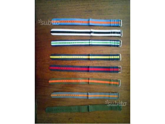 Cinturini orologio da polso impermeabile 22 mm