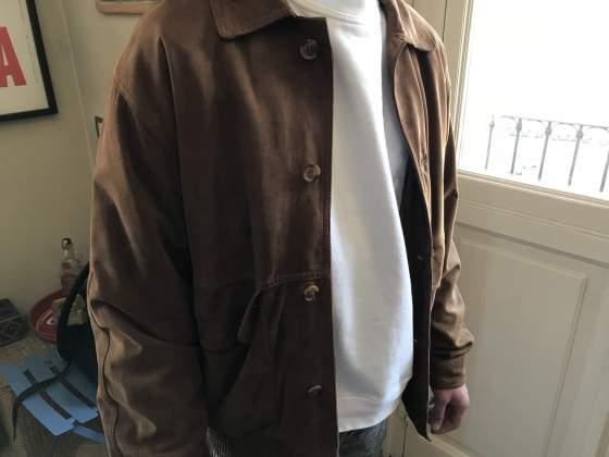 the latest bcf5f b2cae Pregiata giacca in vera pelle di renna sorbino | Posot Class