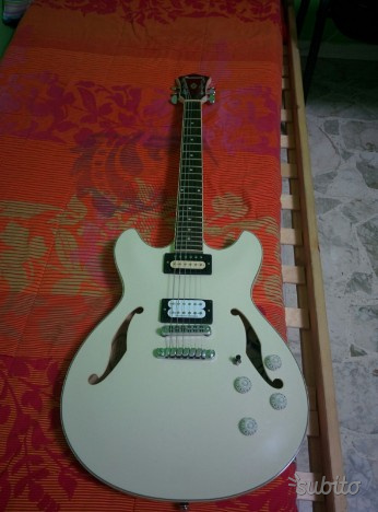 Ibanez as73 artcore semi hollow pickups gibson sd