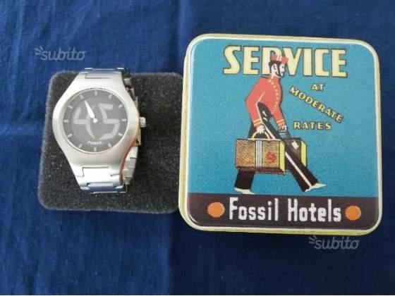 Nuovo orologio Fossil acciaio serie limitata