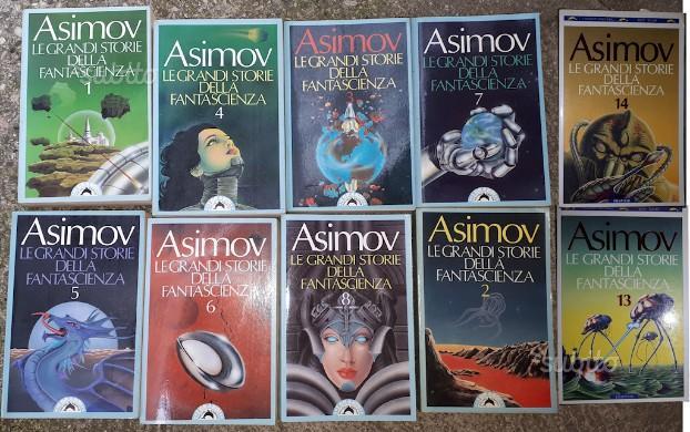 Asimov - Le grandi storie di Fantascienza 11volumi