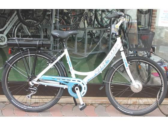 Bici elettrica motore 250w (made in germany) batteria li-tio