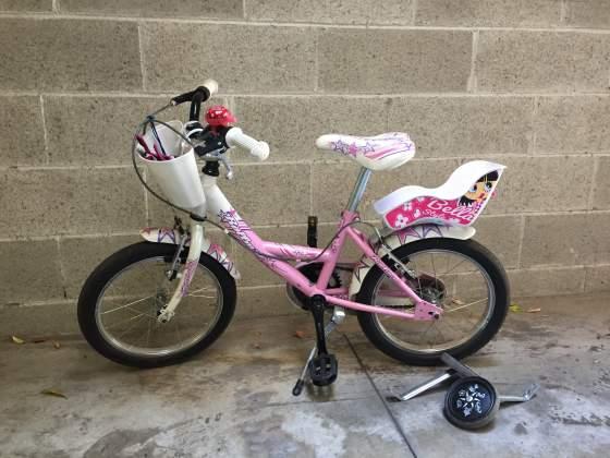"""Bicicletta 20"""" bambina cm (5-7 anni)"""