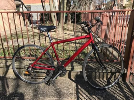 Bicicletta da uomo in alluminio