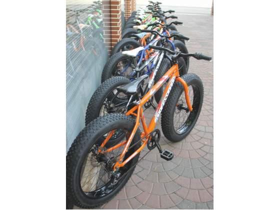 "Fat bike ruote da 24"",shimano 6 vel.,freni disco"