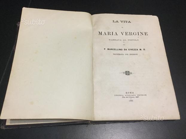 LA VITA DI MARIA VERGINE - P. Marcellino