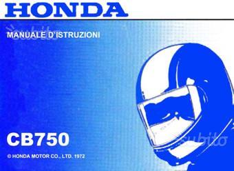 Libretto Manuale Catalogo vari di Moto Honda epoca