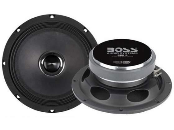 "BOSS -BP8.8 Pro 8"" Mid-Bass Driver 500W Speaker"