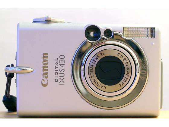 Canon IXUS 430 display rotto
