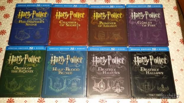 Collezione completa Harry Potter in blu ray
