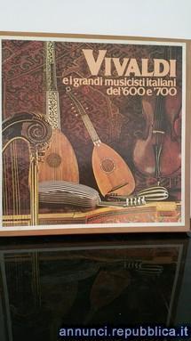 Collezione lp vivaldi e i grandi musicisti italiani del