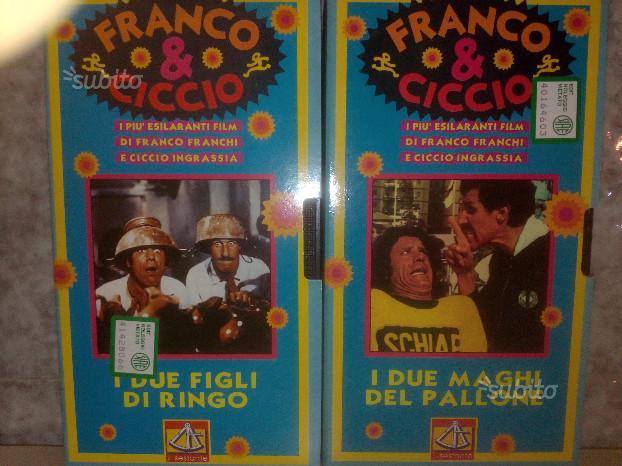 Fanco Franchi e Ciccio Ingrassia (N' 2 film Vhs)