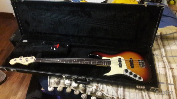 Fender American Deluxe Jazz Bass Left Handed