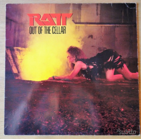 LP Ratt - Out of the cellar