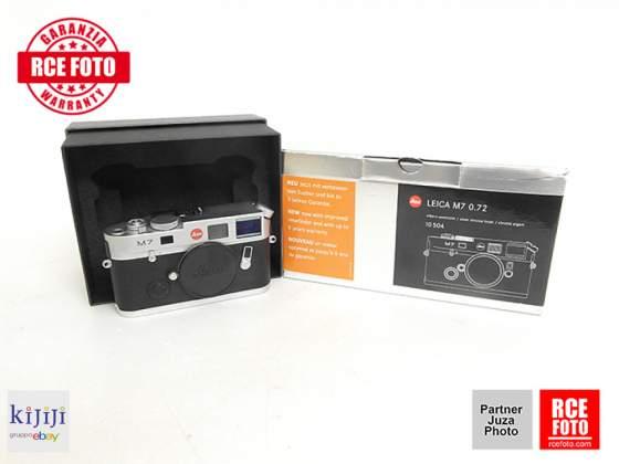 Leica m7 chrome praticamente nuova e completa di imballi