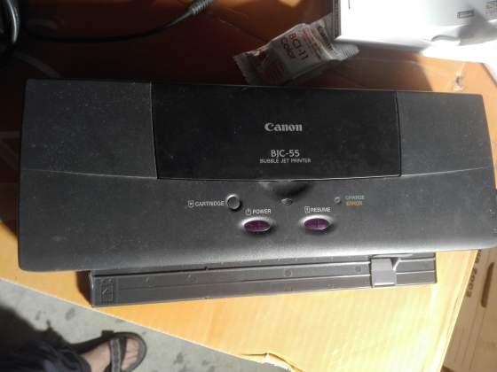 Mini stampante inkjet portatile CANON BJC 55