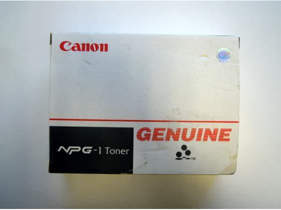 N°2 cartucce originali di toner nero CANON articolo NPG-1.