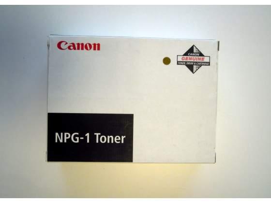 N°3 cartucce originali di toner nero CANON articolo NPG-1.