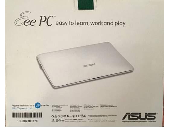 Netbook ASUS come nuovo 2GB di RAM, 230 HD, bianco Perfetto,