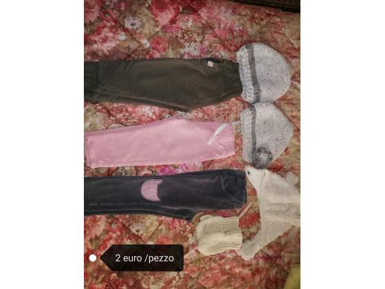 Abbigliamento bimba da 1 a 4 anni