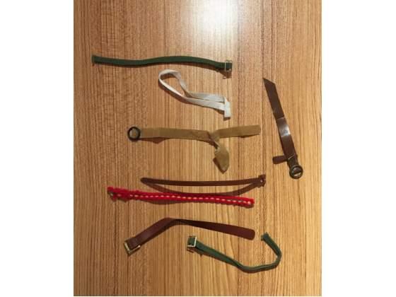 Accessori belts cinture BIG JIM MATTEL e altro