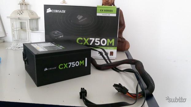 Corsair CX750M Alimentatore PC, Semi Modulare, 80