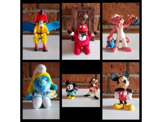 Giochi Vintage Anni '90 Topolino, Pantera Rosa, Aladin