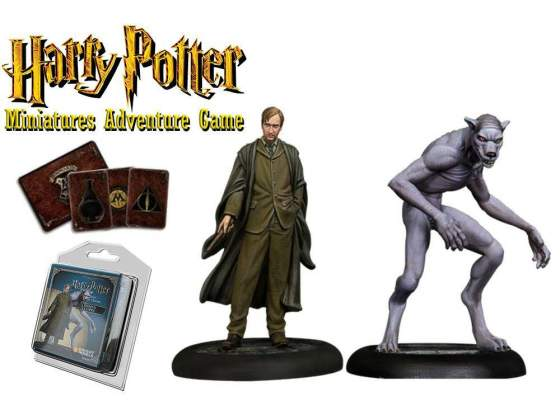 Harry Potter Miniatures 35 mm 2-pack Remus Lupin *English