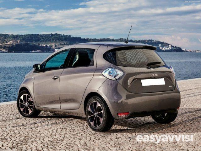 Renault zoe life r90 elettrica, citta metropolitana di